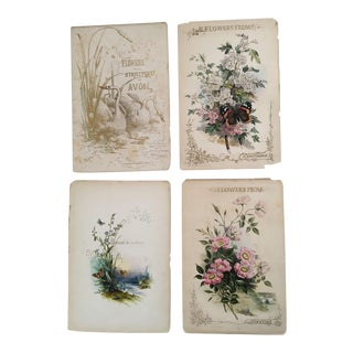 "Book of ""Flowers From Stratford on Avon"" Illustrations by Paul Jerrard C.1850"