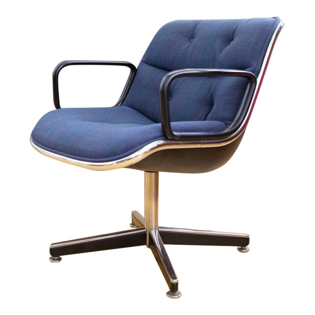 Mid-Century Modern Knoll International Desk Chair - Image 1 of 9
