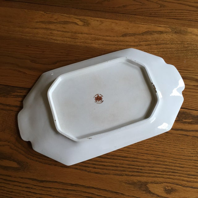 Crackled White Serving Tray - Image 4 of 5