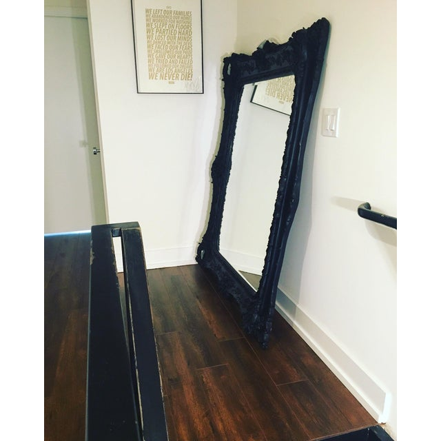 Beautiful Large Designer Floor Mirror - Image 6 of 6