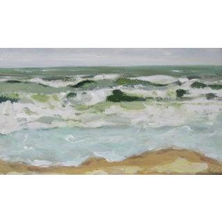 Choppy Waves Painting