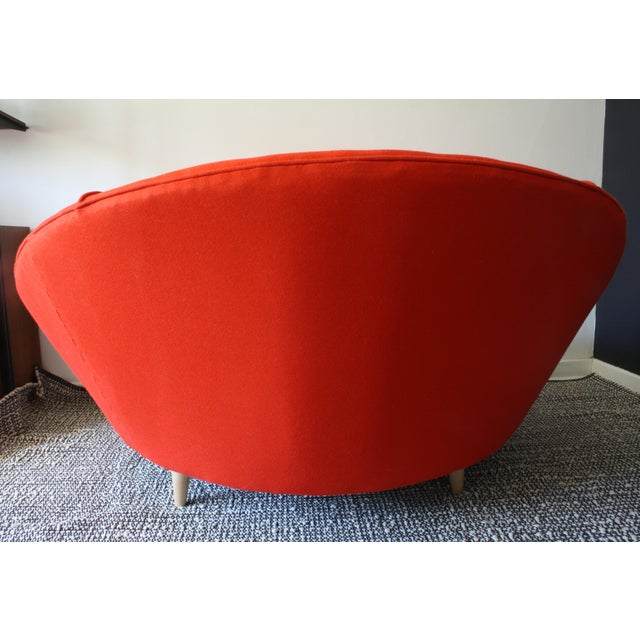Milo Baughman Round Chaise Lounge - Image 6 of 10