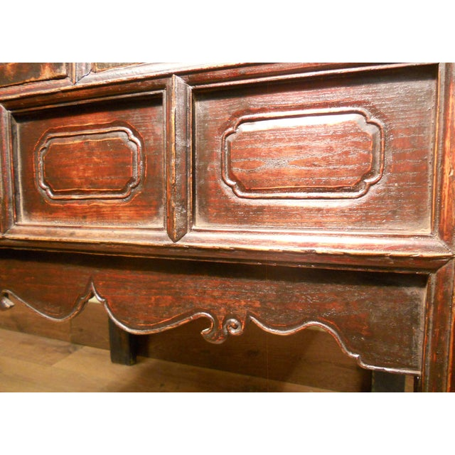 19th-Century Chinese Ming Cabinet - Image 6 of 9