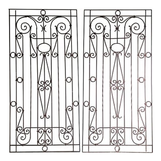Large Vintage French Gates - A Pair