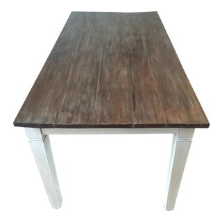 Antiqued Farmhouse Dining Table