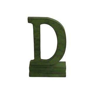 Vintage Letter D