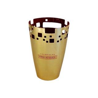 Vintage Piper-Heidsieck Champagne Wine Ice Cooler Bucket