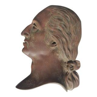 19th Century Bronze Plaque of George Washington