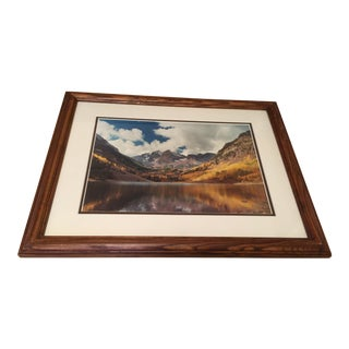 """Maroon Bells"" Rocky Mountain Photograph"