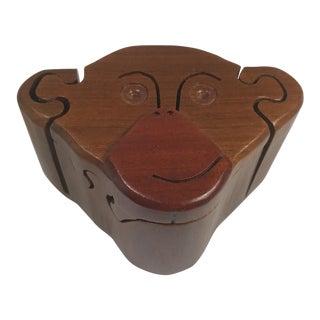 Wooden Monkey Puzzle Box