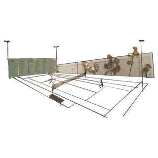 Mid-Century Tennis Wall Art by C. Jere