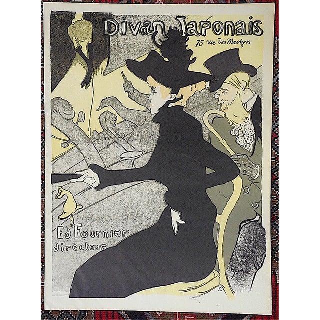 Vintage lautrec lithograph divan japonais chairish for Divan japonais poster value