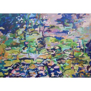 Lily Pond in Giverny France Oil Painting