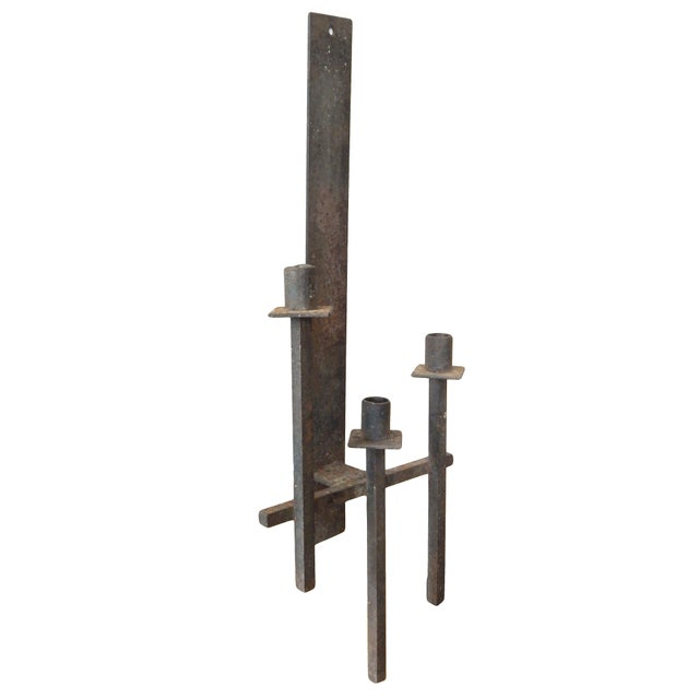 Iron Candelabra Sconces - Image 4 of 6