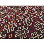 Image of Vintage Turkish Kilim Rug- 7′1″ × 9′10″