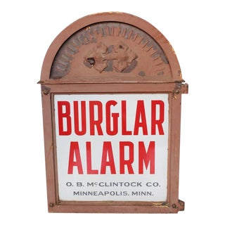 Early 1900s Bank Vault Burglar Alarm by O.B. McClintock