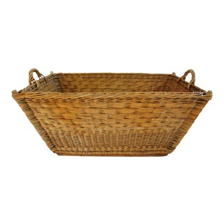 French Willow & Wicker Basket