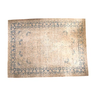 "Vintage Tabriz Carpet - 11'2"" x 15'"