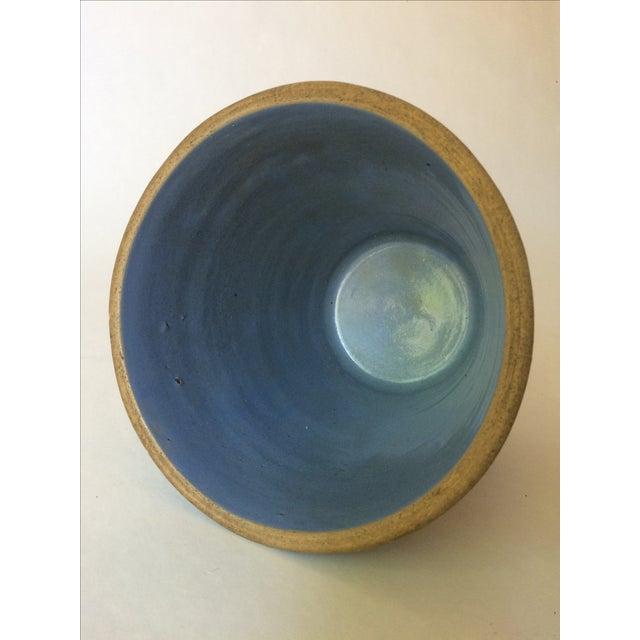 Machine Age Blue-Grey Flower Pot - Image 8 of 11