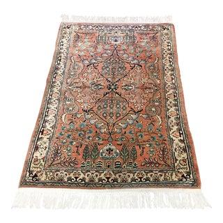 "Uniquely Colored Traditional Area Rug -- 3'4"" x 5'10"""