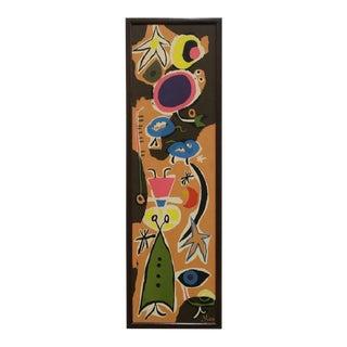 Vintage Joan Miro Paperboard Art Print