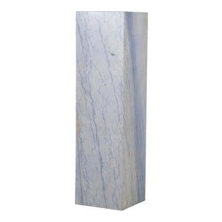 A Rare Italian Blue Marble Pedestal