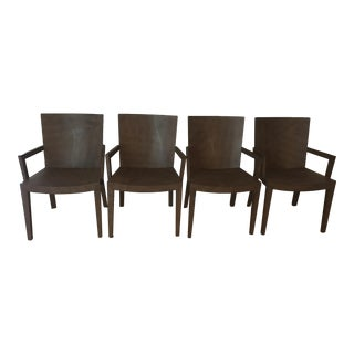 1987 Karl Springer Dining Chairs - Set of 4