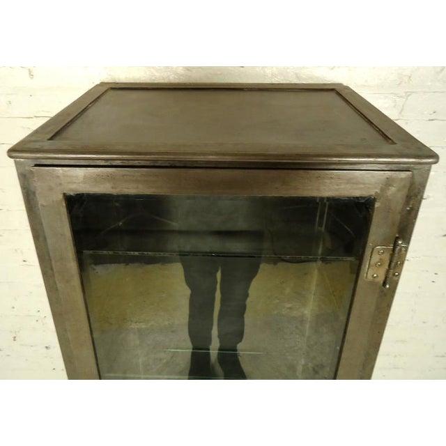 Industrial Metal Display Cabinet - Image 4 of 9