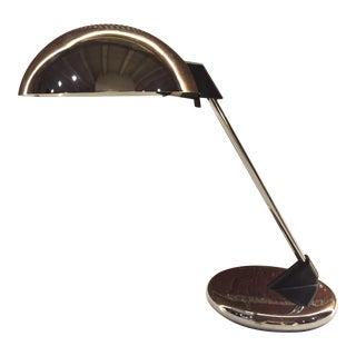 Chrome Atomic Metal Desk Lamp