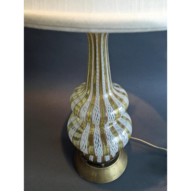 Image of Murano Glass Table Lamp