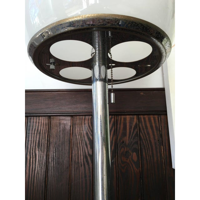 Image of Bauhaus Style Chrome Table Lamp