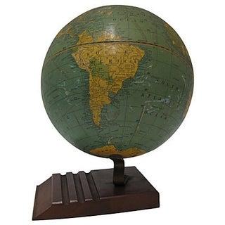 Vintage Terrestrial Desk Globe