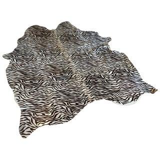 """Modern Zebra Rug - 5'9"""" x 5'5"""""""