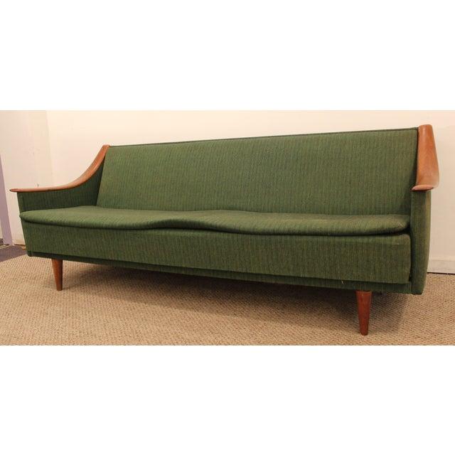 mid century danish modern adrian pearsall style sofa chairish. Black Bedroom Furniture Sets. Home Design Ideas