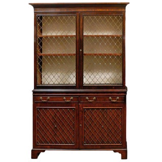 English Mahogany Bookcase or Cabinet