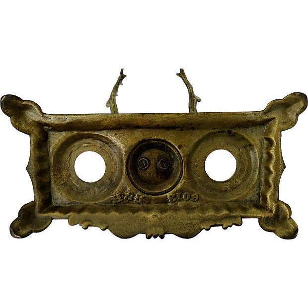 Image of Antique Bradley & Hubbard Inkwell