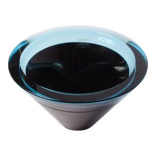 Mid-Century Studio Glass Bowl