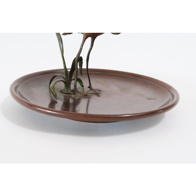 Flamingo Accented Metal Dish - Image 6 of 7