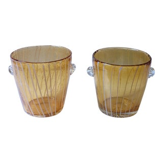 Venini Ice Buckets - a Pair