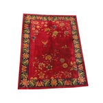 Image of Antique Art Deco Chinese Carpet - 9′ × 11′6″