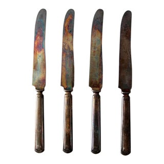 1920s Stratford Dinner Knives - Set of 4