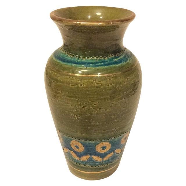 Mid Century 1960's Bitossi Ceramic Vase - Image 1 of 6