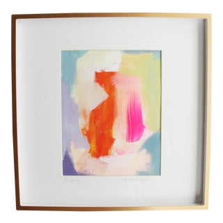 """Abstract Is Best"" Framed Painting"