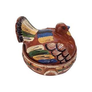 Handmade Terracotta Turkey Tureen