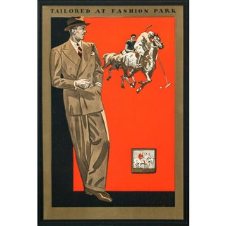 'Tailored at Fashion Park' Advertisement
