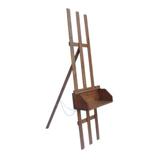 20th Century Adjustable Painters Easel