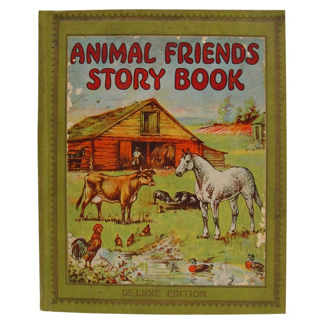 1928 Animal Friends Story Book - Image 1 of 10