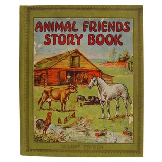 1928 Animal Friends Story Book