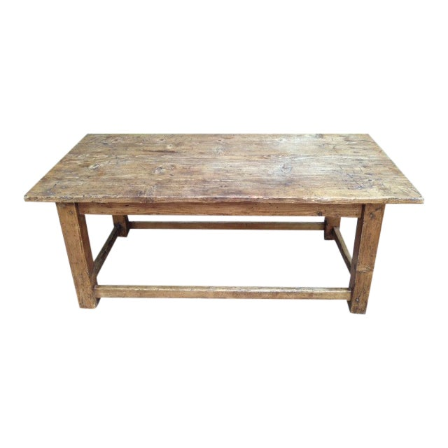 French Antique Pine Coffee Table Chairish