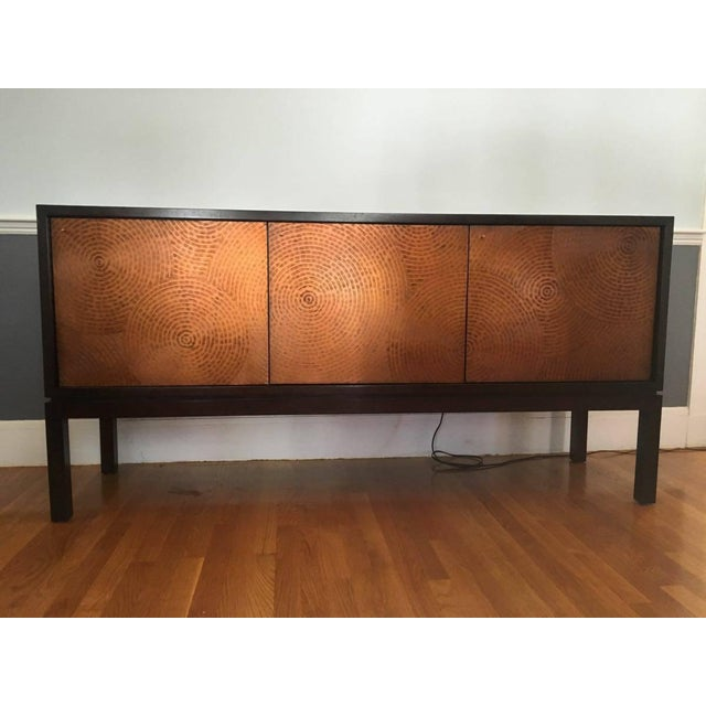 Crate & Barrel Cirque 3 Door Sideboard - Image 2 of 11